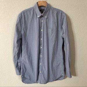 Nordstrom 1901 Button Up Plaid Dress Shirt
